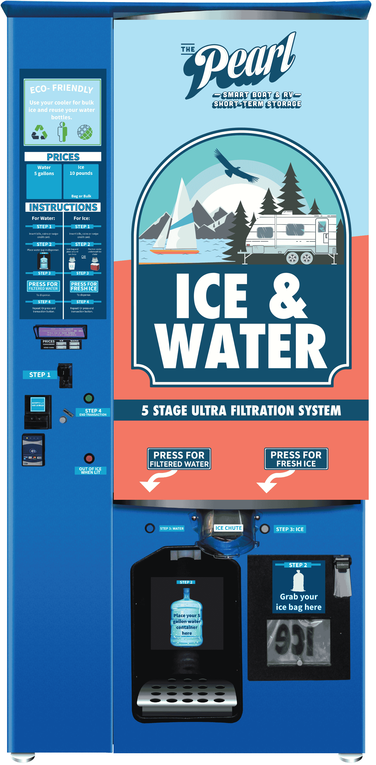 Custom Designed Ice Machine